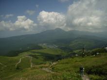 車山山頂からの眺め
