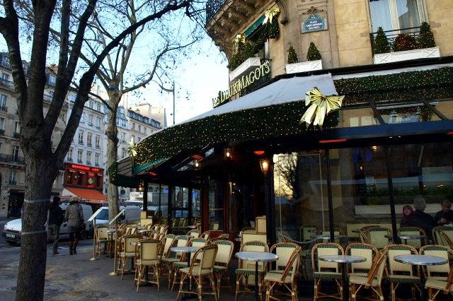 デートに使える!女社長の東京グルメスポット日記★-カフェ・ドゥ・ルマゴ Cafe Les Deux Magot