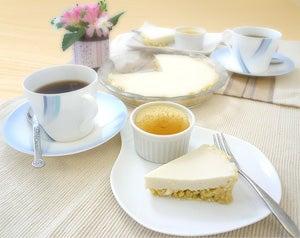 お豆腐で料理-豆腐レモンパイ&クレームカラメル
