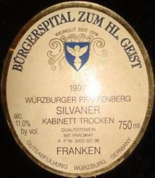 Burgerspital Wurzburger Pfaffenberg 1997