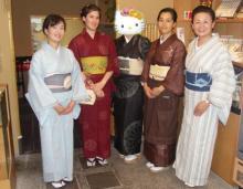 京都で着物4