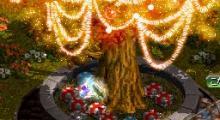 王宮のツリー