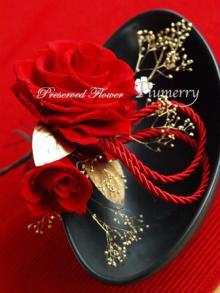 Plumerry(プルメリー)プリザーブドフラワースクール (千葉・浦安校)-和風髪飾り