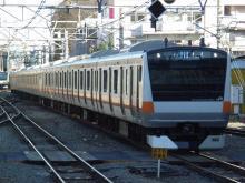 中央線の電車と釜-H50