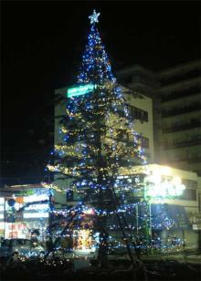 駅前のツリー
