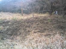 歩き人ふみとあゆみの徒歩世界旅行 日本・台湾編-いのししの掘った穴
