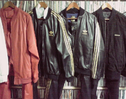 adidas HUNTERの道楽日記-Leather 4xSetup