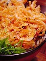 桜えび・うなぎ・地魚料理の店 蒲原の味処 よし川-かき揚げそば