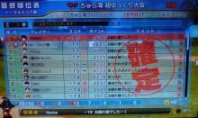 G3リアル1勝目