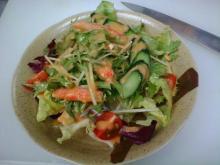 0604ズワイガニと水菜のサラダ