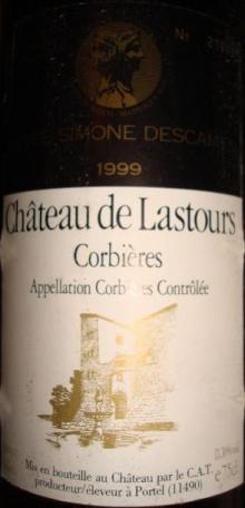 Ch de Lastours Corbieres 1999