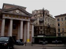 トリエステの金融街