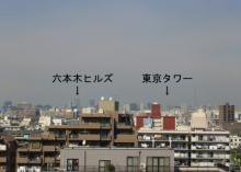 六本木ヒルズ&東京タワー