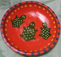 アジアン木皿