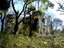 20061227芝公園 伸びゆく子供像