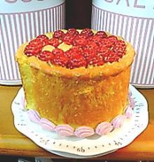 ケーキ型キッチンタイマー