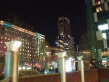 札幌駅前夜景