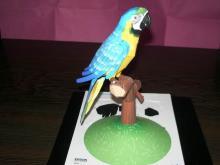 EPSON Blue Parrot Papermodel