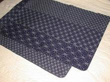 麻の葉ウール袖