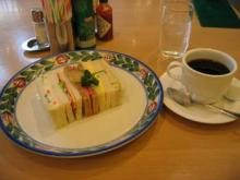 アメックス定食(サンドイッチ)