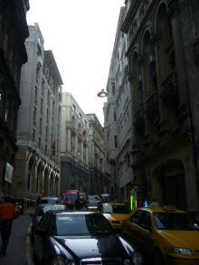 新市街の街並み