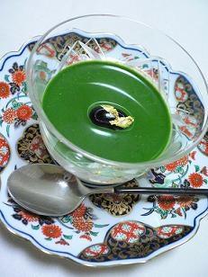 抹茶ブラマンジェ