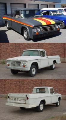 Dodge D100 1962 & 1965