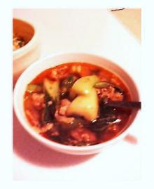 チンゲン菜スープ