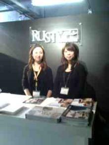 RUSTY展示会