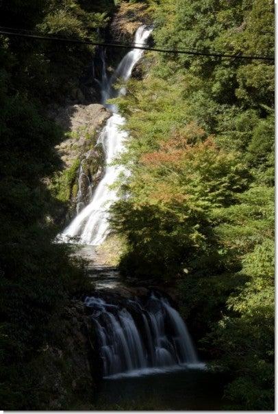 岩竜寺の滝