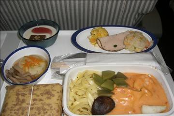 JL(JAL日本航空)603便機内食