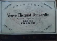 個人的ワインのブログ-Veuve Clicquot Ponsardin Demi Sec