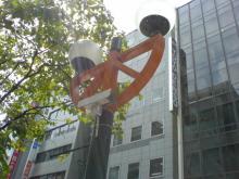 20060828赤レンガ通り街灯2