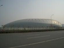 天津のサッカースタジアム
