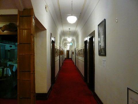 ダイニング横の廊下