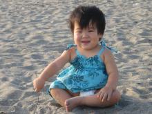 楽しい砂遊び♪