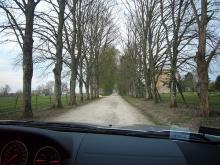 ジャロンジェ城への道