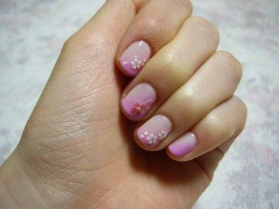 桜ネイル5