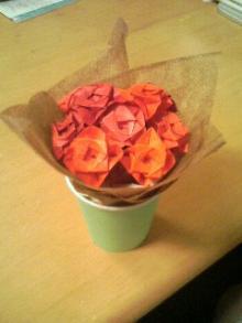 花束コップ