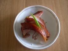 地鶏の燻製
