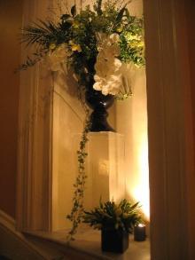 ホテルの花