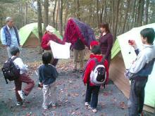 キャンプサイト説明