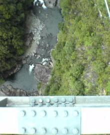 綾の吊橋②
