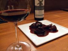 ワインと赤ワイン煮込み
