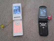 携帯(open時)