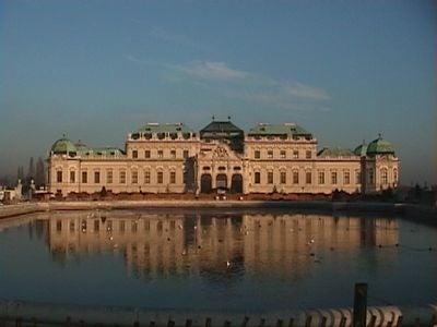 ウィーンのベルヴェデーレ宮殿3