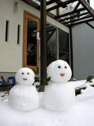 2006 雪だるま