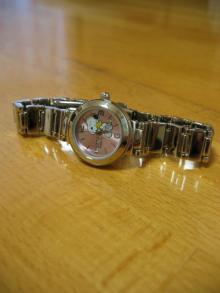 スヌちゃん時計