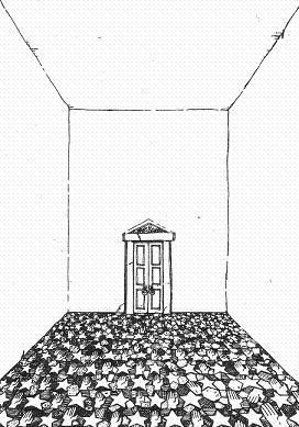 タイルの部屋