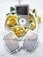 ★ 天使姫のBling Bling Life ★・・・・・Angel orDevil ? -シンプルデコヘッドフォン☆完成6